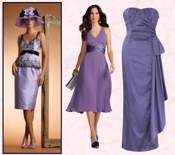 Mauve to Purple Bridal Group