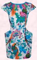 Monsoon Fusion Spring Summer 2010 - Due April - Blue Cosmic Dress �65/�110 Eire