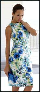 M&Co Ladieswear SS10 Jewelled Floral Shift Dress �40.