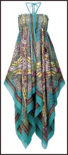 Handkerchief Maxi Dress Mataln �14.