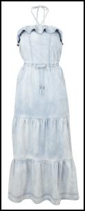 River Island Double Denim Maxi Dress �34.99.