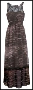 Oli Clothing 2010 - Maxi Animal Print Festival Casual Summer Dress �35- Oli Ref.40C458WB9.