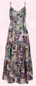 Evans Butterfly Maxi Dress Summer 2010 - �59.50/�89.50.