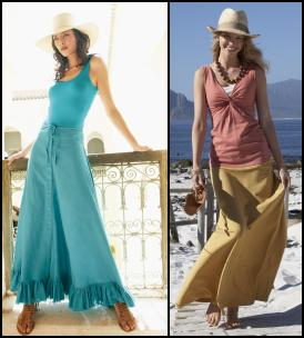 Maxi Skirt Fashion Trend.