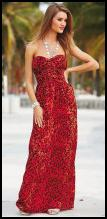 Red Animal Print Maxi Dress - NEXT Directory - 2010.