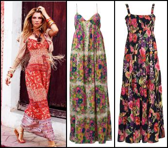 Nicole Maxi Dress �150/�235. ASOS Clothing - Maxi Dress �50. Flower Print Dress, �28, Marisota SS10.