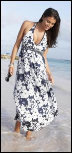 Fifty Plus Washable Cotton Beach Maxi Dress, from �28.