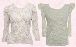 Lace Blouse from a selection at Primark. Lace Blouse by Rare.