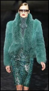 Sea Green Furs.