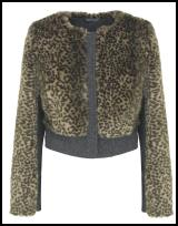 M&S Limited Collection Fur Jacket.