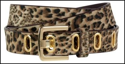 Animal Print Belt for AW11/12