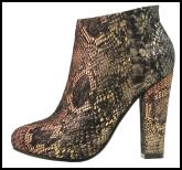 Snake Print Shoe Boot for Winter 2011/12