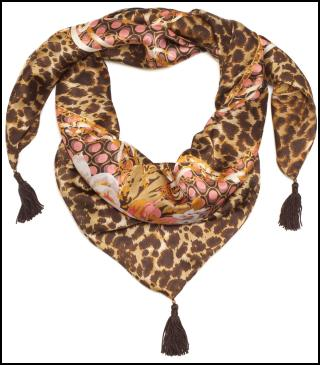 Accessorize AW11/12 - Margot Animal Print Scarf.