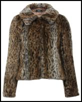 Animal Print Fur Jacket From M&Co.