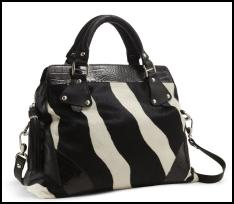 Animal Print Zebra Bag for AW11/12