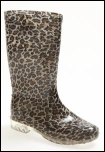 Animal Print Wellie Boots for Winter 2011/12