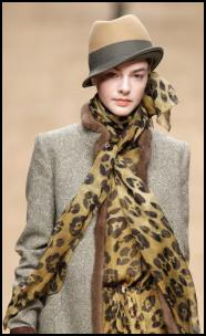 Animal Print Fashion Accessories AW11/12