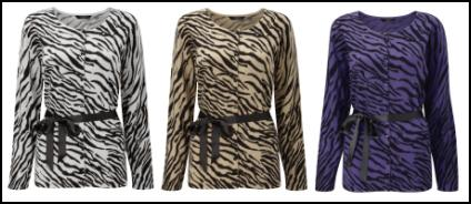 Animal Print Knitwear Accessories for Winter 2011/12
