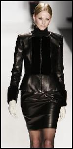 Elene Cassis Leather Fashions.