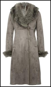 Shearling Coat.