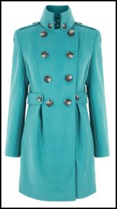 Aquamarine Blue Coat.