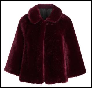 Athena Fur Cape.