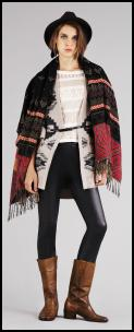 Navaho Poncho Throw.