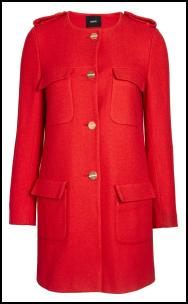 Red Coat Marc Jacobs.