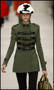 Burberry Catwalk Coat.