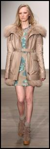 Taupe Parka By Matthew Williamson.