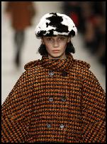 Burberry Celebrates British Wool Tweed Cape
