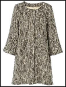Camel Tweed Coat.