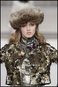 Oscar de la Renta AW11 - Bead & Sequin Embellished Evening Jacket.