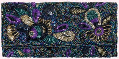 M&S Beaded Clutch Bag,