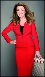 Jane Seymour Wears CC AW11 Red Suit.