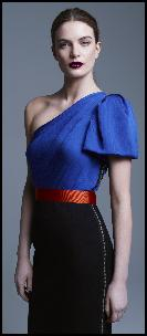 Roksanda Iilinic Cobalt Blue Dress