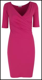 Marks and Spencer AW11 Autograph Pink Dress.
