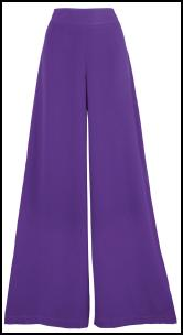 Simply Be AW11 Purple Palazzo Pants.