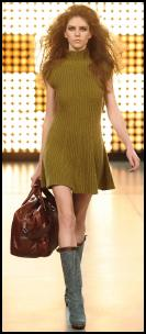 Benetton Green Sweater Dress.