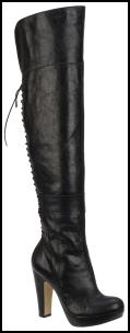Over Knee Black Paramount Boots.