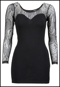 Motel Rocks Lace Insert Else Dress.