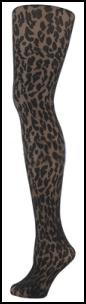 Animal Print Pantyhose.