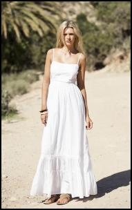 High Street Bargain White Maxi From Penneys (Ireland).