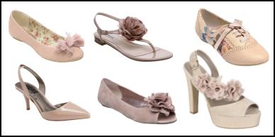 Pale Pink Rose Shoes.
