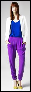 Violet Hareem Trousers.