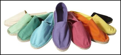 Coloured Fashion Espadrilles.