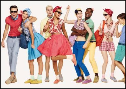 Summer 2011 Colour Campaign From Benetton Fashion.