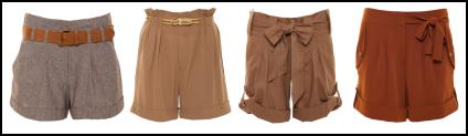 Brown Shorts - Summer 2011.