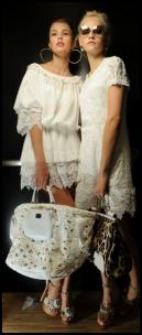 2011 Summer Whites Women's Apparel From Dolce Gabbana Catwalk Show.