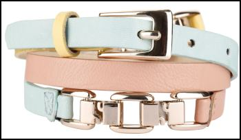 Skinny Pastel Belts From NEXT.